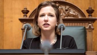 Zeigte sich schockiert über die Machenschaften der PR-Leute: Christa Markwalder.Lukas Lehmann/Keystone