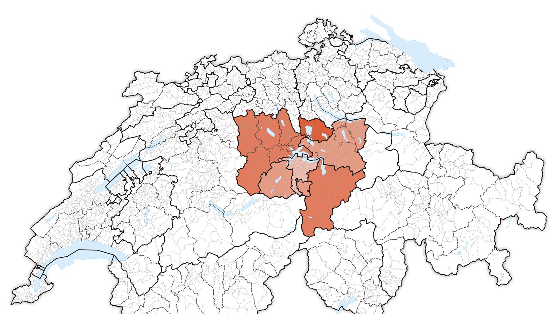 Karte_Zentralschweiz_2013.2