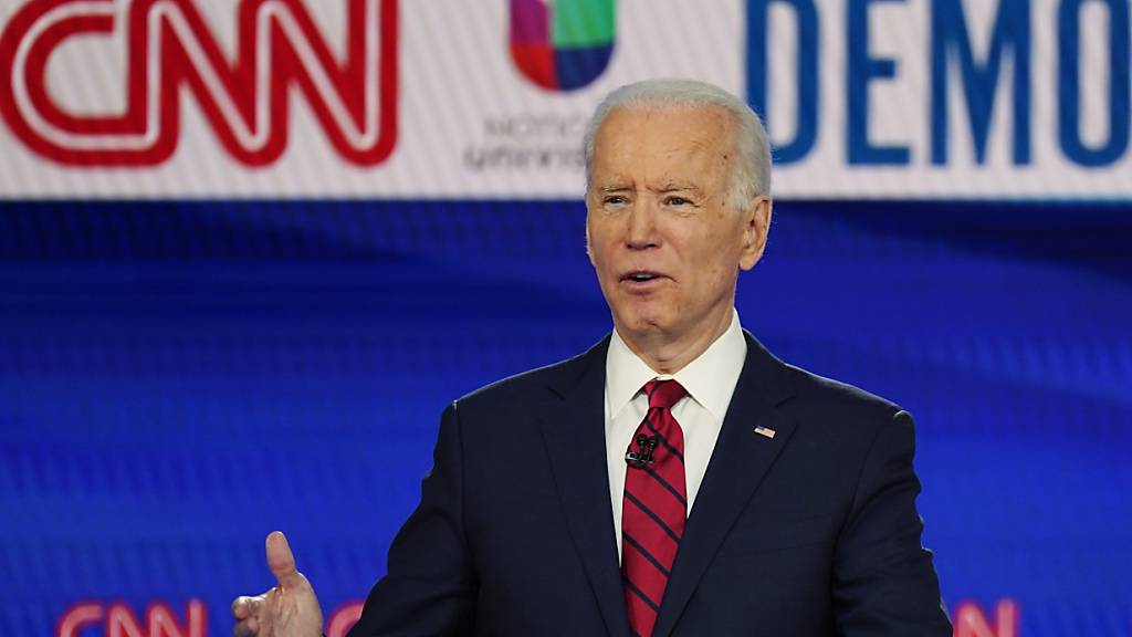 Umfragewerte sehen Biden bei US-Wahlen vor Trump