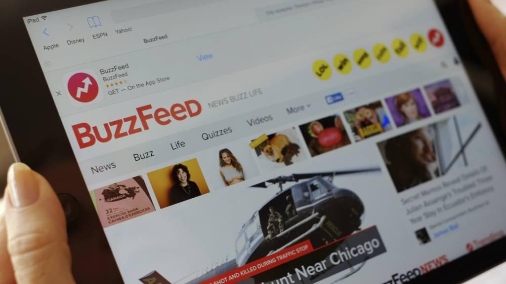 Buzzfeed hat die «HuffPost» übernommen. (Archivbild)