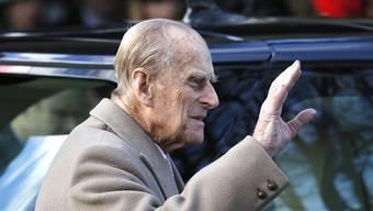 Prinz Philip erholt sich in Sandringham von seinem Autounfall. (Archivbild)