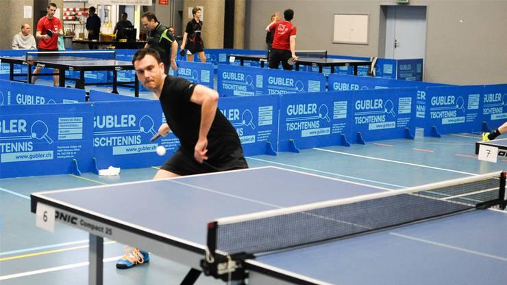Marcus Bischoff, Spielleiter vom TTC Urdorf, hat auch dieses Jahr an den Limmattaler Tennismeisterschaften Chancen auf einen Podestplatz.
