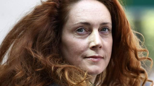 """Angeklagt: Muirdoch-Vertraute und Ex-""""News of the World""""-Chefredaktorin Rebekah Brooks (Archiv)"""