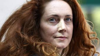 "Angeklagt: Muirdoch-Vertraute und Ex-""News of the World""-Chefredaktorin Rebekah Brooks (Archiv)"