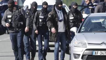 Im Bild: Mitglieder der Anti-Terroreinheite der französischen Gendamerie.