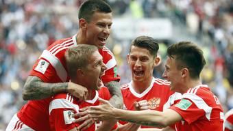 WM 2018: Impressionen vom Gruppenspiel Russland - Saudi Arabien