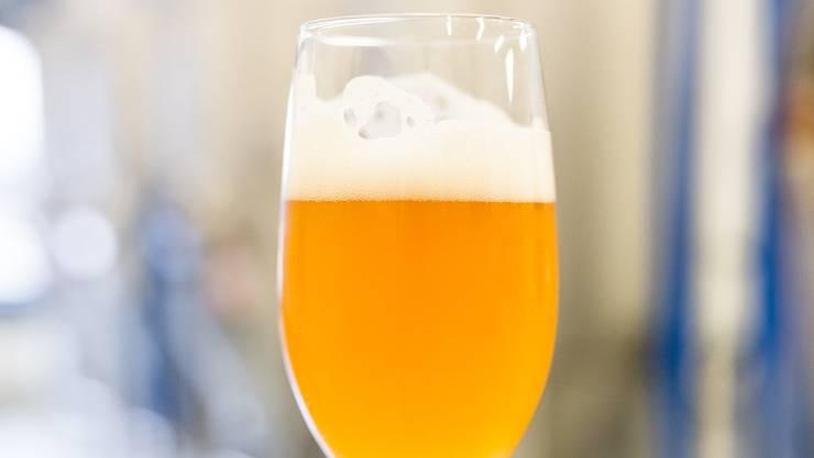 In der Markthalle findet die Basler Craft Bier Messe statt.