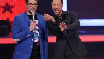 """Daniel Hartwich (l.) moderiert die nächste """"Supertalent""""-Staffel auf RTL ohne Marco Schreyl (Archiv)"""