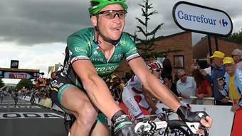 Thomas Voeckler krönte seine Leistung mit dem Etappensieg.