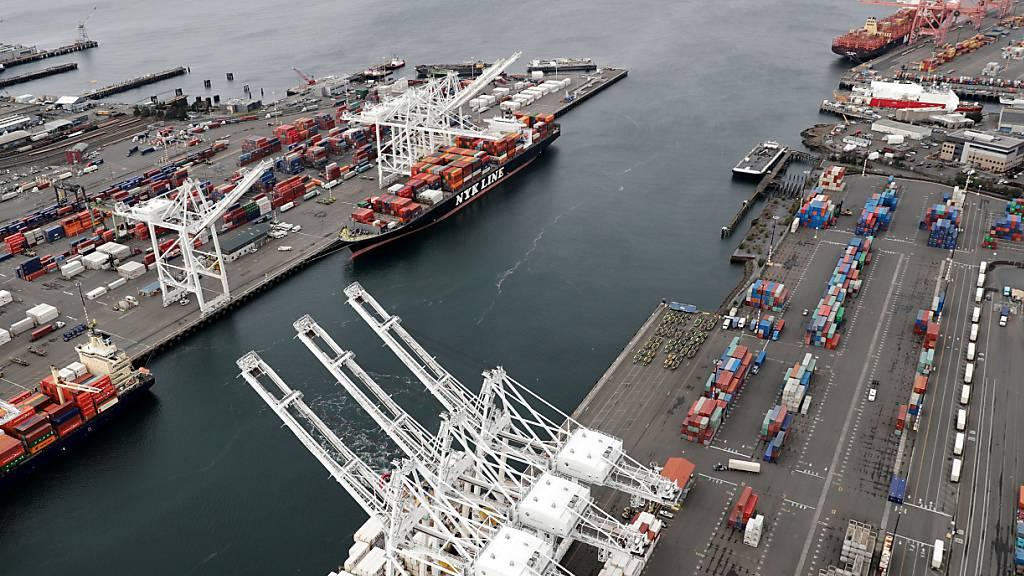 Welthandel bleibt laut WTO vorerst unterdurchschnittlich. (Archiv)