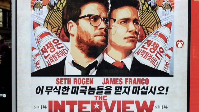 "Plakat des Films ""The Interview"" (Symbolbild)"