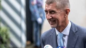 Hat gut lachen: Der tschechische Ministerpräsident Andrej Babis hat ein weiteres Justizverfahren gewonnen. Nach Ansicht der Verwaltungsbeamten konnte eine direkte Einflussnahme von ihm auf die Medien nicht nachgewiesen werden.