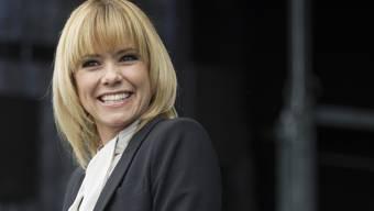 Francine Jordi quittiert das Nackt-Angebot mit einem Lachen (Archiv)