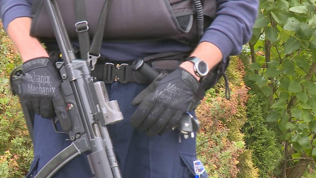 Gleich zwei Polizeieinsätze in Wohlen