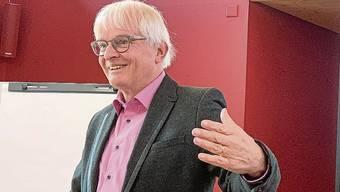 Markus Müller referierte in Zuzgen.