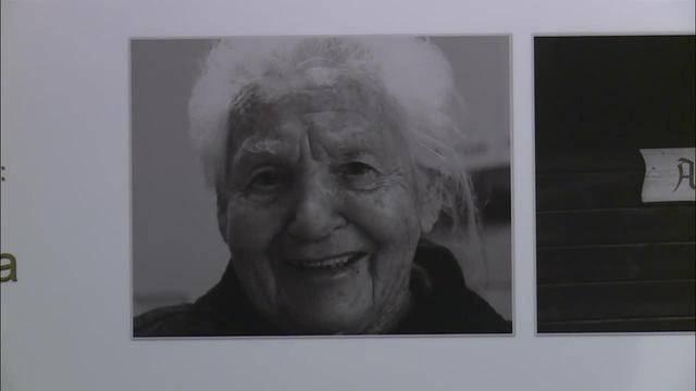 Foto Münsingen mit Werken von Fünftklässlern