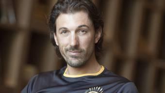 Der Ex-Radrennfahrer Fabian Cancellara trainiert gerade oft genug, damit es in der Bauchgegend nicht ansetzt. (Archivbild)
