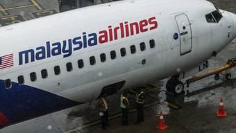 Ein Jet der Malaysia Airlines in Kuakla Lumpur