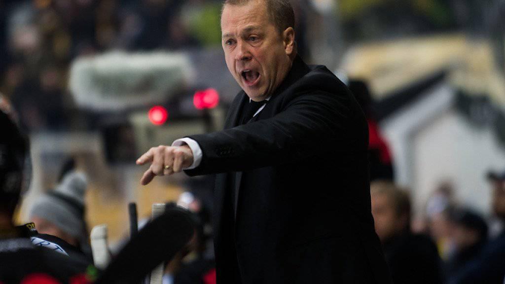 Für Luganos Coach Greg Ireland wird es nach einer weiteren Niederlage von Lugano eng