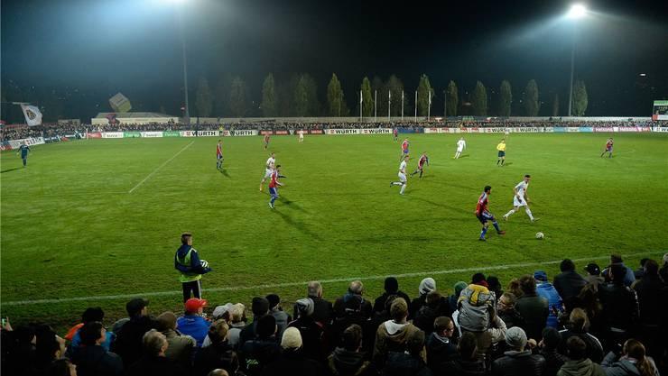 Das Stadion Niedermatten wird fleissig gebraucht. Frutiger/Freshfocus