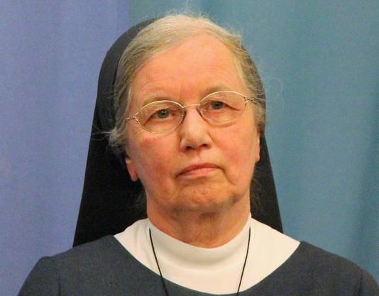 Schwester Zita Estermann ist Generaloberin der Baldegger Schwestern.
