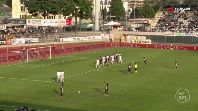 Zwei Minuten später der Schock Miroslav Covilo trifft zum 1:2.