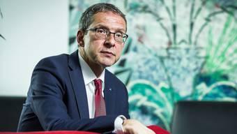 Urs Hofmann, Volkswirtschaftsdirektor und Architekt des neuen Finanzausgleichs