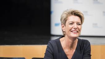 Geben keine Antwort auf «zu unpolitische Fragen»: Karin Keller-Sutter und ihre zwei FDP-Konkurrenten im Kampf um einen Bundesratssitz.