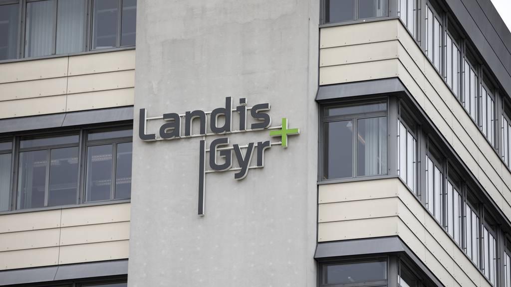 Der Hauptsitz von Landis+Gyr in Zug.