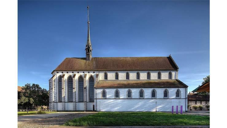 Die Klosterkirche Königsfelden. Hier beginnt die Geschichte von Henmann von Mülinen, der von der Äbtissin Elisabeth einen verhängnisvollen Auftrag erhält.