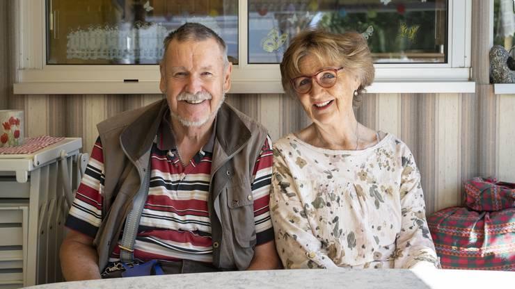 Karl Zehnder und Margrit Steffen verbindet das Campen seit zwanzig Jahren. Lange reisten sie zusammen herum, seit 2010 steht ihr Wohnwagen in Frick.