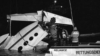 Etwa 100 Tote liegen am Grund des Bodensees, vermuten die Polizeien der Schweiz, Deutschlands und Österreichs. Seit 1947 wird dazu eine Liste geführt. Unter den nie gefundenen Leichen befinden sich der Pilot und eine Passagierin der Cessna, die 1994 bei Rorschach in den Bodensee abstürzte.