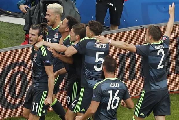 Jubelnde Bilder der Waliser sind an der EM 2016 zur Gewohnheit geworden.