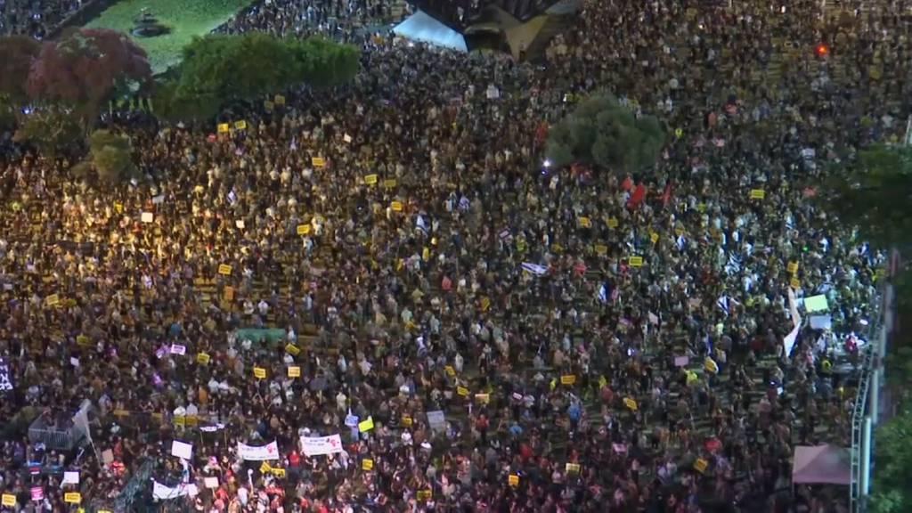 Israel: Tausende demonstrieren gegen Corona-Politik