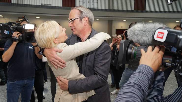 Beat Züsli und Manuela Jost vor 4 Jahren