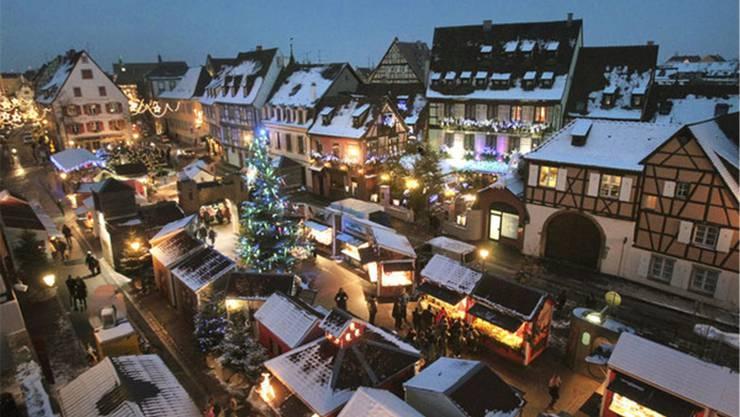 Colmar Weihnachtsmarkt.Der Basler Weihnachtsmarkt Ist Europaweit Auf Platz 8 Die Region