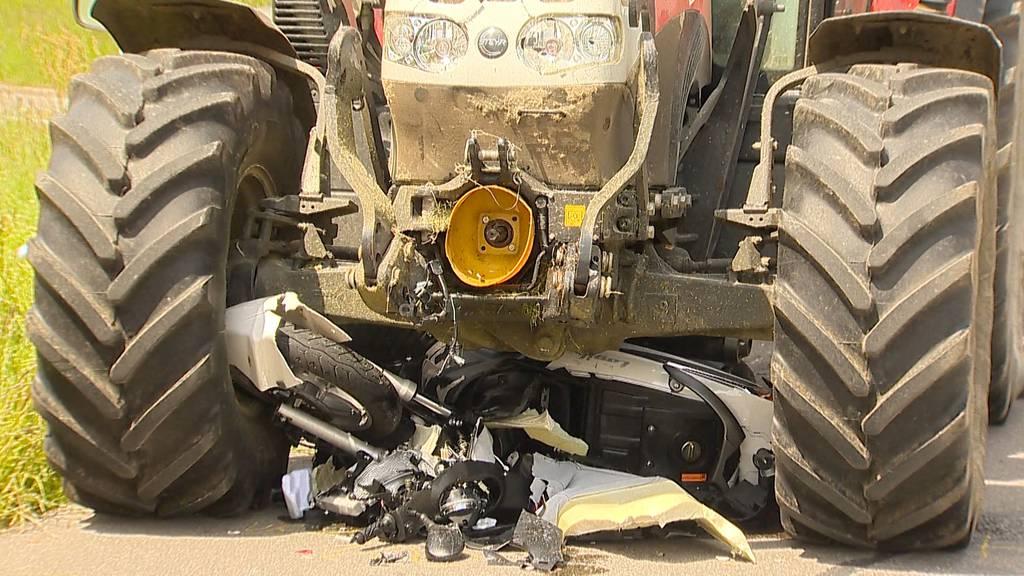 Tödlicher Motorradunfall bei Gossau