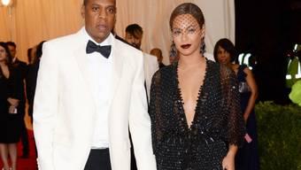 Von der Schwägerin attackiert: Jay-Z, hier mit Gattin (Archiv)