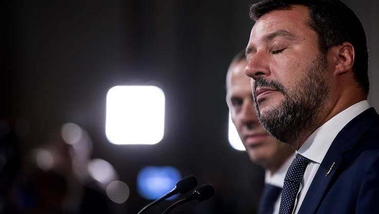 Die Wahlen in der Emilia-Romagna waren für Matteo Salvini eine eiskalte Dusche.