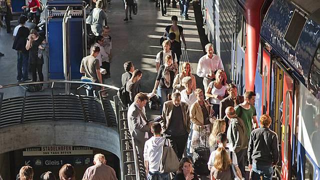 Bahnhof Stadelhofen in Zürich (Archiv)
