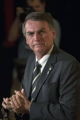 Zusage: Jair Bolsonaro, Präsident Brasilien.