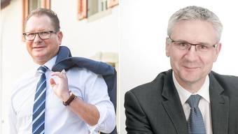 Rolf Jäggi oder Andreas Glarner: Wer wird Aargauer SVP-Chef?