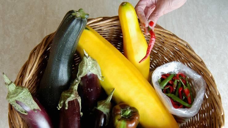 Gemüse aus der Region war kurzfristig im Trend.