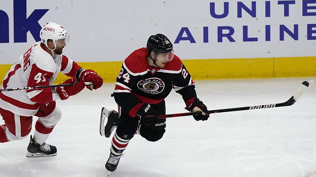 Pius Suter ist mit seinen sieben Toren der treffsicherste NHL-Neuling in der laufenden Saison