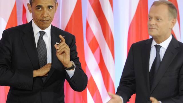 Barack Obama und Polens Premier Donald Tusk