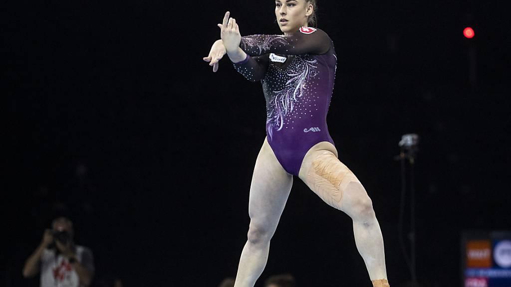 Giulia Steingruber ist an der EM in Basel in drei Finals vertreten