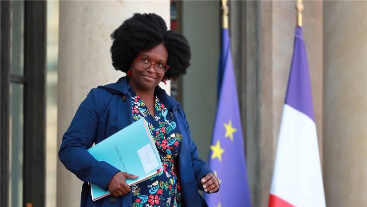 Spricht künftig für den französischen Präsidenten: Sibeth Ndiaye. Keystone