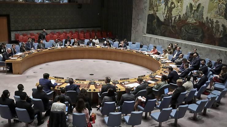 Sitzung des Uno-Sicherheitsrats in New York. (Archivbild)