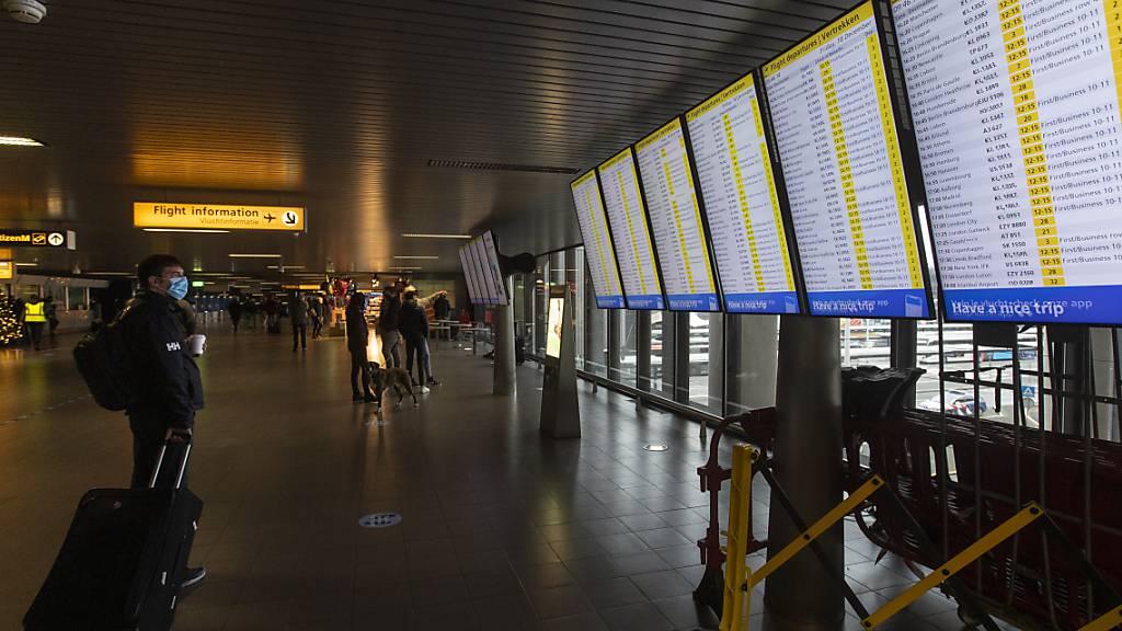 Coronavirus-Variante: Niederlande verbieten Flüge aus Grossbritannien