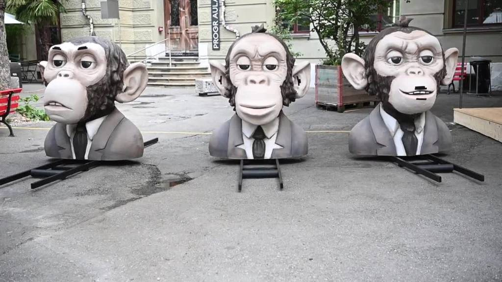 Greenpeace demonstriert für grünen Finanzplatz